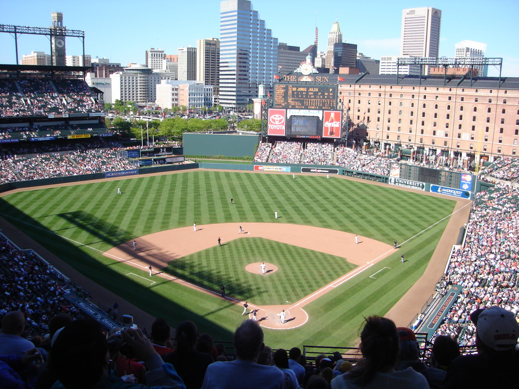 Category Camden Yards Baseball Stadiums